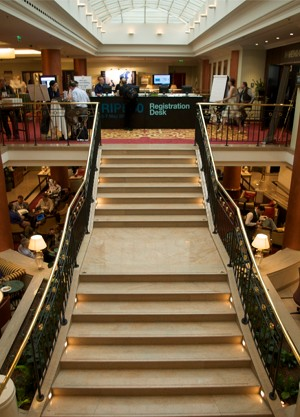 The stairs to RIPE 60